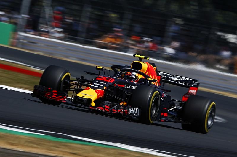 Red Bull lamenta la falta de velocidad en las rectas de Silverstone