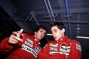"""Prost relembra volta """"absolutamente incrível"""" de Senna em 88"""