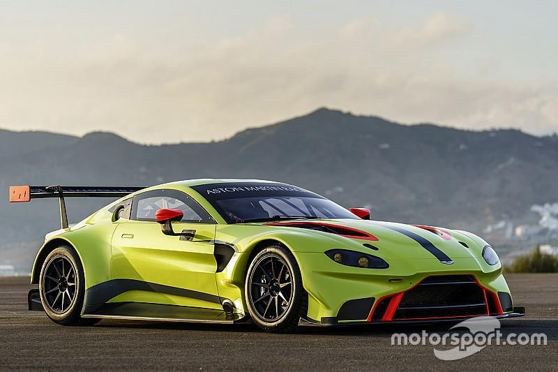 Aston Martin zeigt neuen Vantage GTE für WEC 2018
