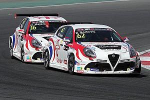 TCR Comunicati stampa Finale consistente per le Alfa Romeo a Dubai
