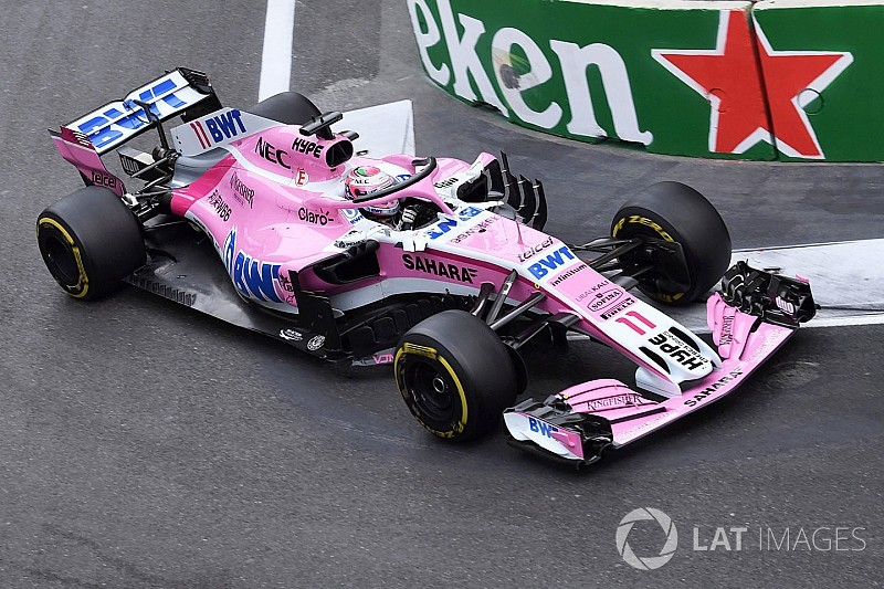 Baku podium not a coincidence, says Perez