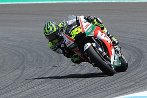 MotoGP Qualifiche Pole e record per Crutchlow a Jerez. Dovi in terza fila, Rossi in quarta