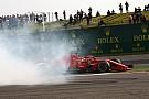 Képeken Vettel súlyosan megsérült padlólemeze Kínából