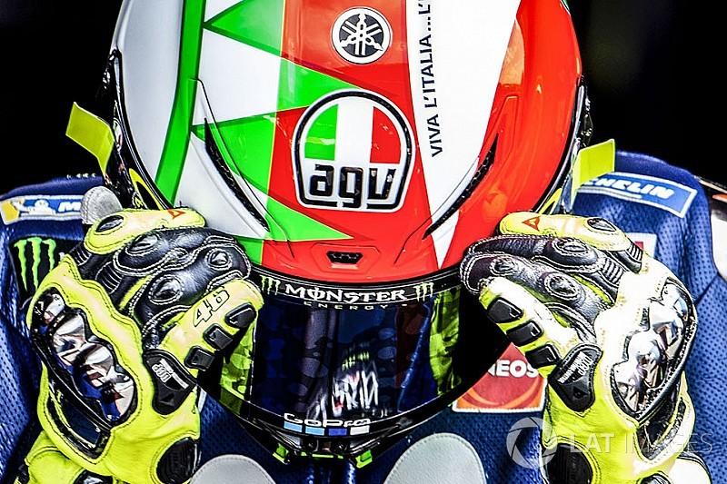 GALERÍA: el sábado especial de Rossi en Mugello