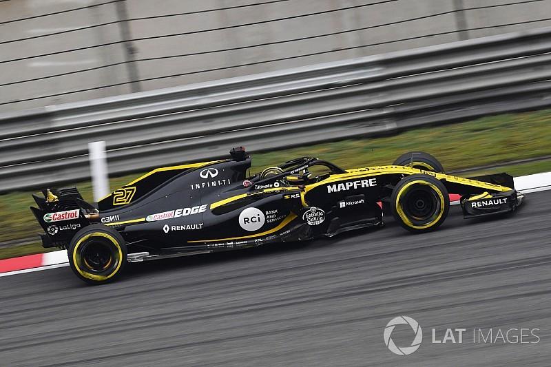 Hülkenberg encouragé par la régularité de Renault