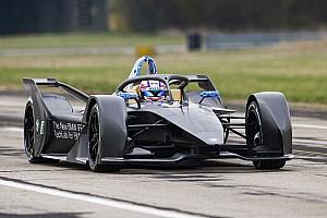 Formel E News BMW mit dem neuen Formel-E-Auto erstmals auf der Strecke
