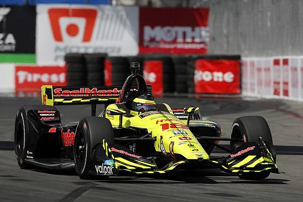 IndyCar Bourdais forcé de