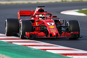 Formula 1 Testing report Vettel smashes lap record on penultimate test day