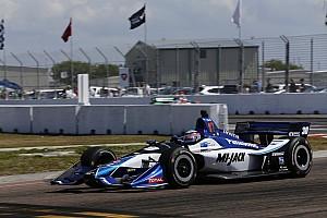 IndyCar 速報ニュース 佐藤琢磨、荒れたレースで接触され12位「こんな結果になって残念」