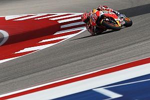 MotoGP Reporte de pruebas Márquez termina el viernes de Austin delante de Viñales