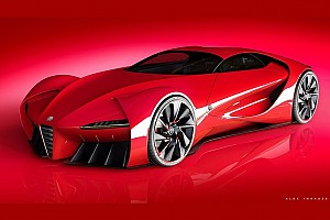 Auto Actualités Un rendu incroyable pour l'Alfa Romeo 6c Disco Volante