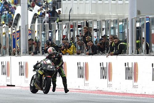 """Zarco: Pushing bike for a point """"better than nothing"""""""