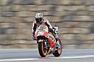 MotoGP Pedrosa terminó adelante y Rossi se tomó el día con calma