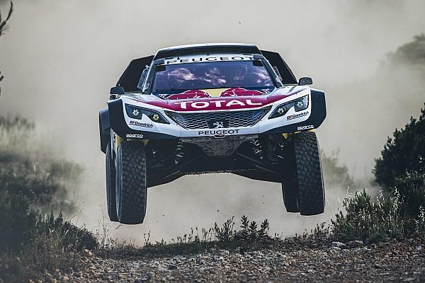 VIDEO: Peugeot prueba su Maxi 3008DKR