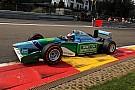 Mick Schumacher beraksi di mobil F1 Michael Schumacher