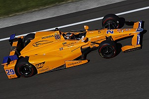 IndyCar Новость Алонсо пожертвует квалификацией ради гоночного темпа в Indy 500