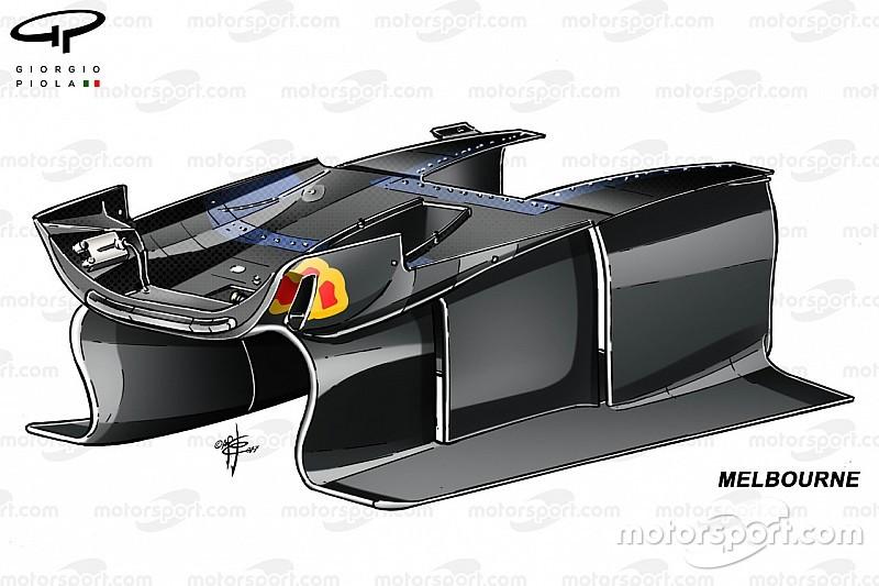 Технічний аналіз: Red Bull переглянули ідею поворотних лопатей