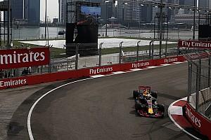 Formula 1 Prove libere Singapore, Libere 1:  Ricciardo davanti, Vettel secondo fra le due Red Bull