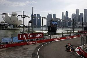 F1 Reporte de prácticas Ricciardo lideró la primera práctica en Singapur y Pérez fue 5°