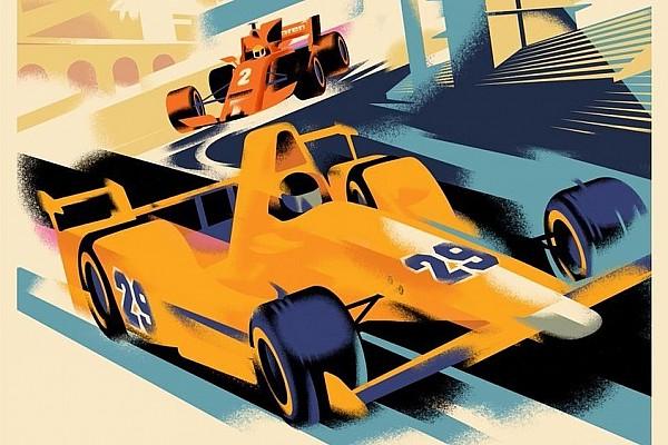 Формула 1 Новость В McLaren сделали постер перед Гран При Монако и Indy 500