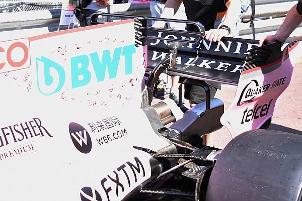 Formule 1 Actualités Force India introduit un triple T-wing à Monaco