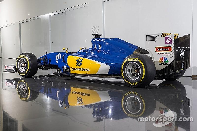 Sauber F1 team reveals modified 2016 livery