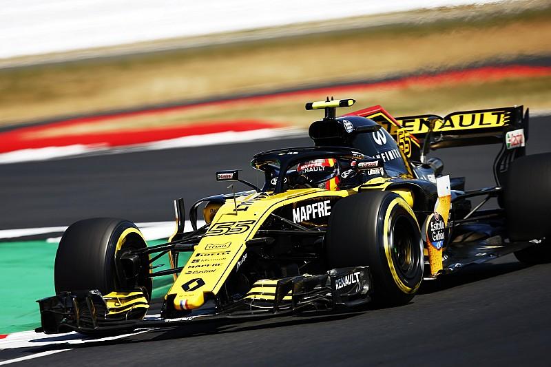 Sainz legt schuld van crash op Silverstone bij Grosjean: