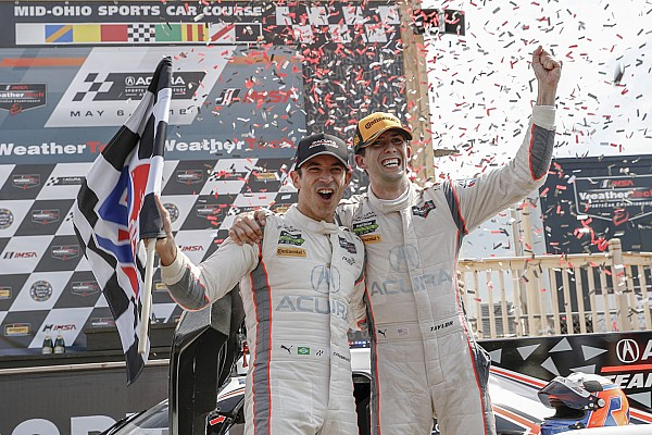 IMSA Raceverslag IMSA Mid-Ohio: Winst voor Castroneves/Taylor, Van der Zande vijfde