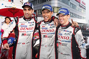 WEC Race report Fuji WEC: Toyota keeps title hopes alive in shortened race