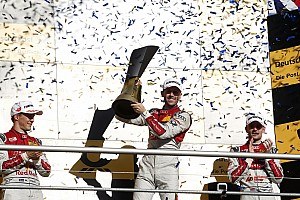 DTM Special feature How a rookie conquered one of racing's toughest series