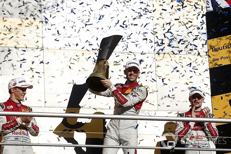 Wittmann: Rast 2017 DTM şampiyonluğunu hak etti