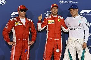 Fórmula 1 Resultados La parrilla de salida del GP de Bahrein