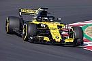 Formula 1 Renault: la R.S.18 gira a Barcellona per il filming day