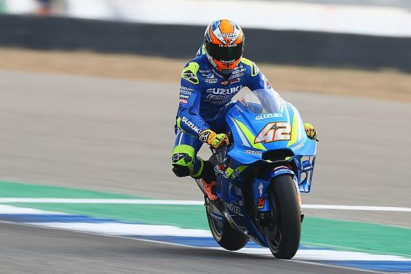 MotoGP Son dakika Suzuki sürücüleri son versiyon kaplama kanatçığından memnun