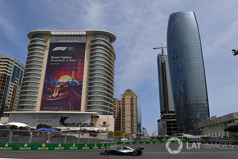 Siga o segundo treino livre do GP do Azerbaijão em Tempo Real