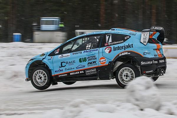 """World Rallycross Noticias de última hora Newgarden sobre correr en la nieve: """"¡como nunca había competido antes!"""""""