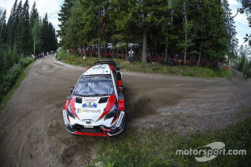 WRC Finland: Tanak controleert voorsprong na dag twee