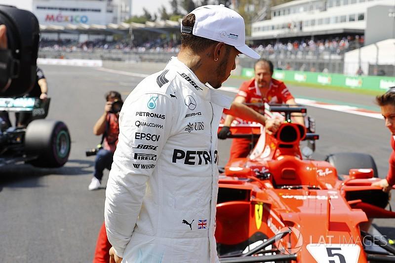Meksika GP olaylı başladı, Vettel-Hamilton temas yaşadı