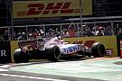 Formula 1 Ad Abu Dhabi la F.1 prova un nuovo microfono vicino allo scarico
