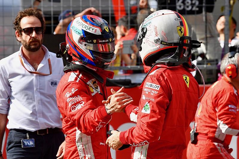 Keine Stallorder bei Ferrari: