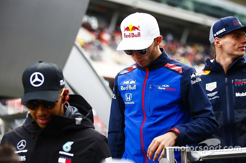 Gasly: Hamilton, Vettel and others backed me over penalty