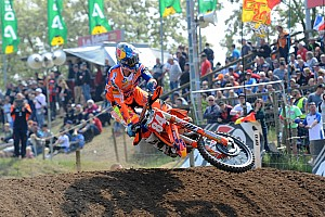 Mondiale Cross MxGP Qualifiche Quinta pole position consecutiva per Jeffrey Herlings in Germania