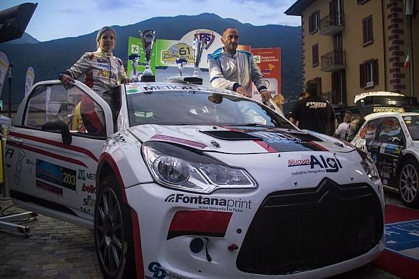Moira Lucca sul podio al Rally Coppa Valtellina Nazionale