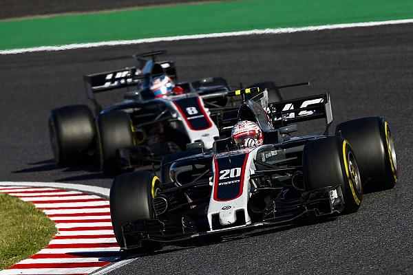 Forma-1 Motorsport.com hírek 120 millió forint értékű fejlesztés került fel a Haas autóira