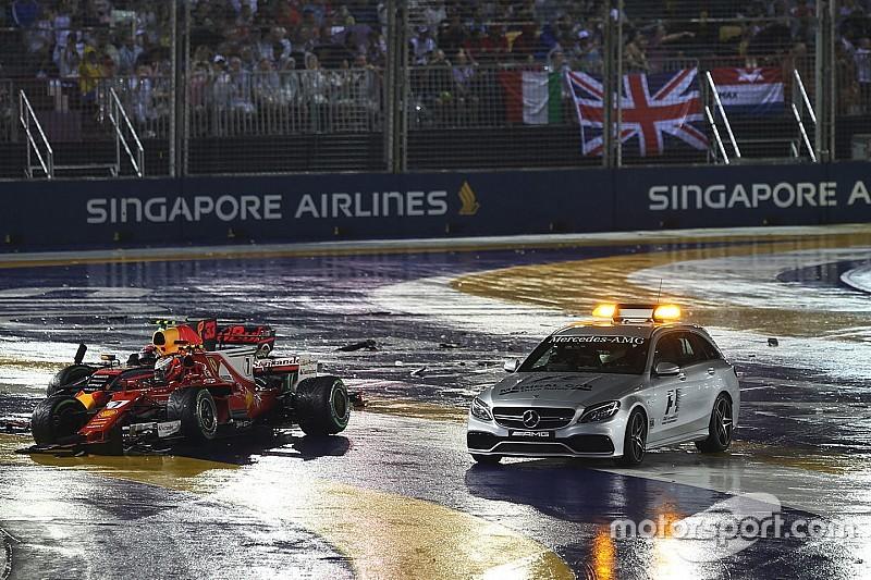 Raikkonen: Kecelakaan start bukan kesalahan saya