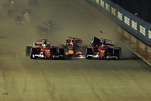 Formula 1 I più cliccati Fotogallery: le Ferrari out al via di Singapore nel crash con Verstappen