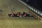Гран Прі Сінгапуру: хроніка аварії першого повороту