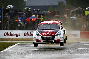 World Rallycross Réactions Loeb: Cette fois, nous étions dans la lutte avec Volkswagen