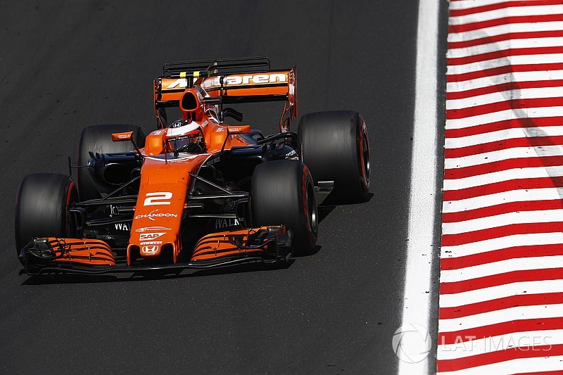 35 Plätze: McLaren-Pilot Vandoorne mit Startplatzstrafe bei F1 in Spa