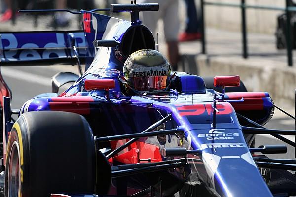 Formula 1 Komparasi: Gelael vs duo pembalap utama Toro Rosso di Hongaria